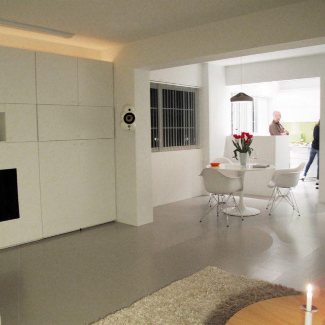White flat