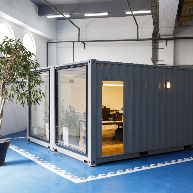 AGS office container